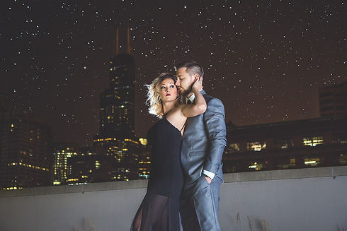 Korto Photography, Chicago Wedding Photographer, Chicago Fashion Photographer, Chicago Photographer, Barrington Photographer, Allison Kortokrax, Kate Wise, Ryan Wise, Chicago Skyline, Night Engagement, Engagement Photographer, Chicago Engagement Photographer