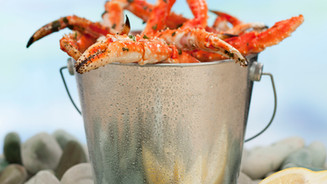 COMPANY'S COMING CANADIAN FISHING COOKBOOK CRAB LEGS