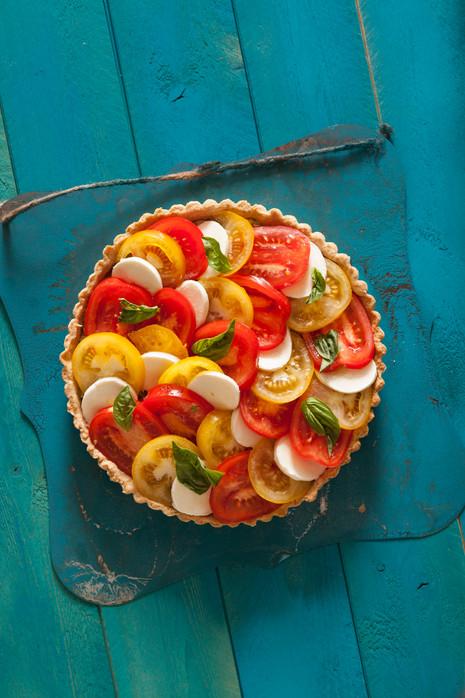 SUMMER ENTERTAINING COOKBOOK TOMATO TART