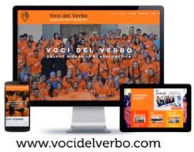 Sito web e grandi iniziative del gruppo Voci del Verbo in Italia