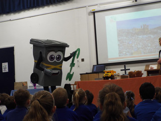 Slim Jim's Recycling Assembly