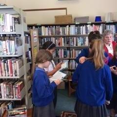Pine Martens Library Visit