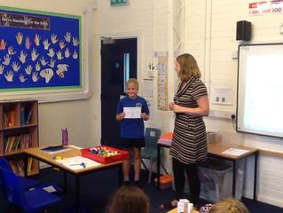Chestnut Class Weekly Achievements