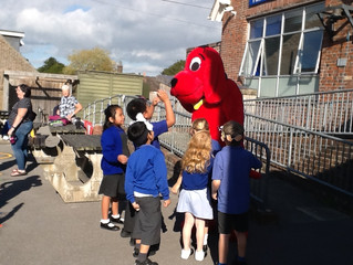 The Big Red Dog!
