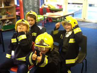 A Visit from the Fire Service