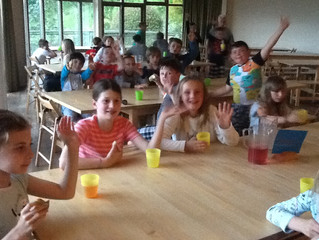 First day of fun at Mill on the Brue
