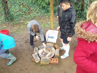 Chestnut Class Forest School