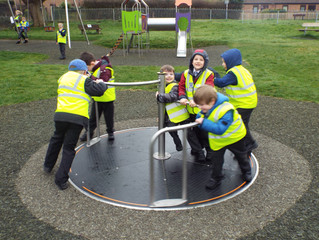Visit to Wool Play Park-Ladybirds
