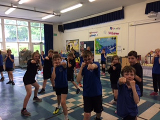 Thank you to Sports Direct for our free sports taster session.  We all had great fun with dodgeball