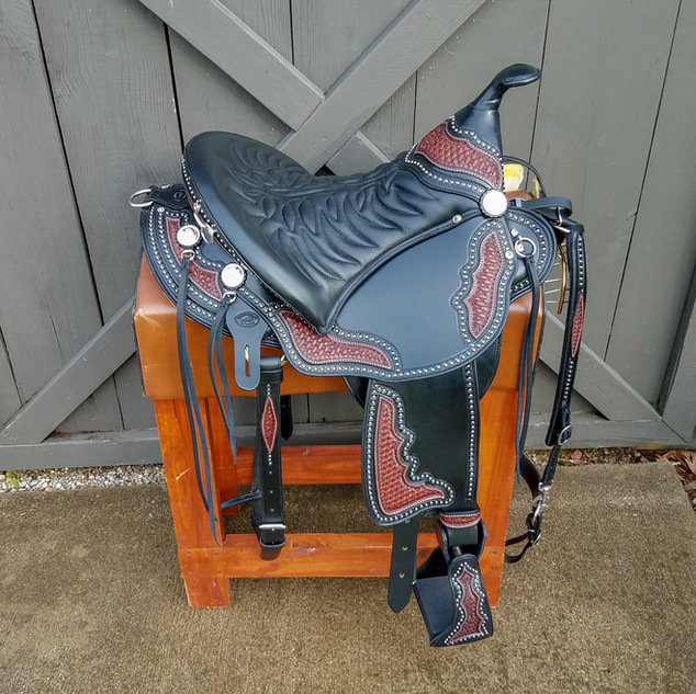 Eli Miller Buena Vista Saddle (Black)
