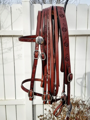 Eli Miller Bridle & Breast Collar