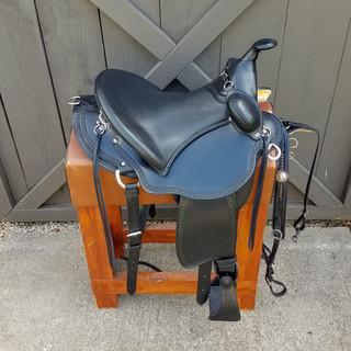 Eli Miller Buena Vista Saddle (Black)
