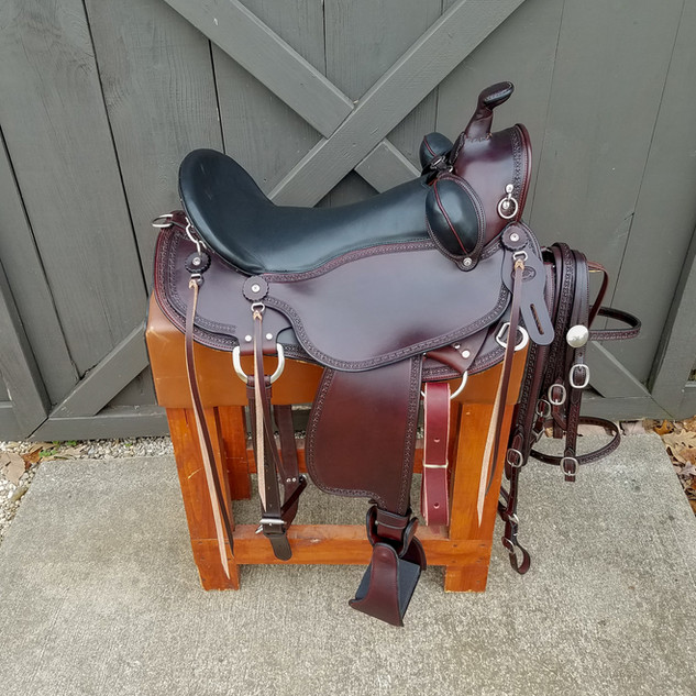Eli Miller Old Timer Saddle (Brown)