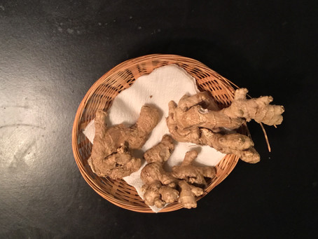Hon's Brew: the antibacterial effect of Ginger