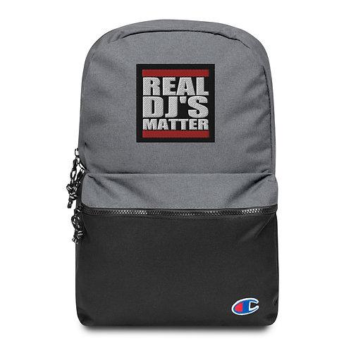 Real DJ's Matter Champion Backpack