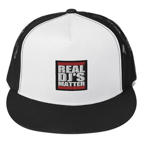 Real DJ's Matter Trucker Cap