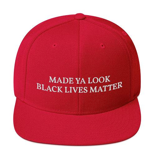 """Make """"Black Lives Matter"""" Snapback"""