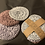 Thumbnail: Face Scrubby 100% cotton x3 washable pads blackberry