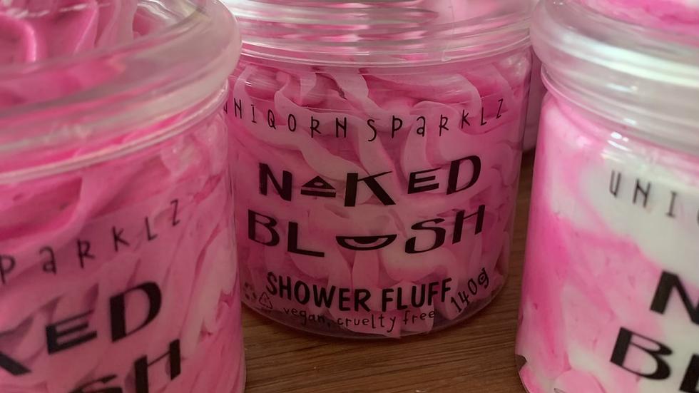 Naked Blush fragranced  fluff whipped soap