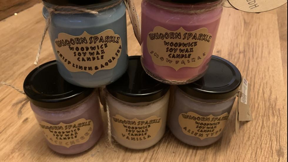 Wood Wick Jar candles