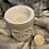 Thumbnail: Concrete love wax melt burner grey