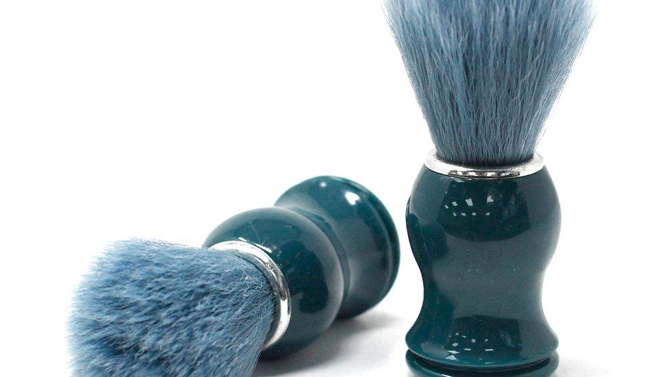 Vegan wood and synthetic posh shaving brush