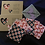Thumbnail: HEART design Make up remover cloths hand made