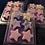 Thumbnail: Snow Fairae  designer collection wax melt clam shell