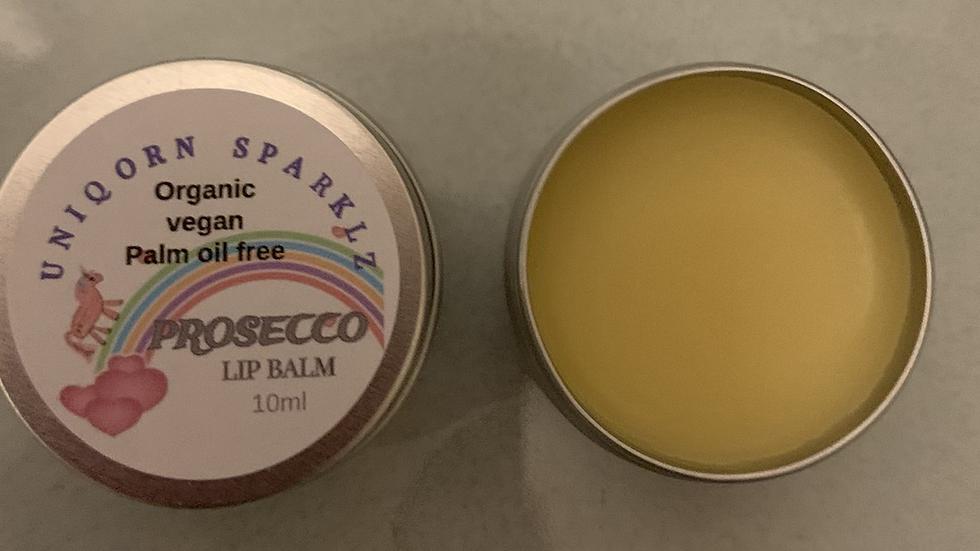 Organic Vegan Prosecco Lip Balm