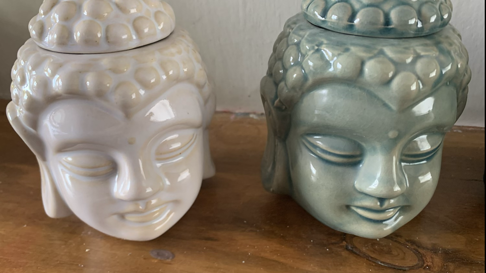 Medium Buddha head wax burner