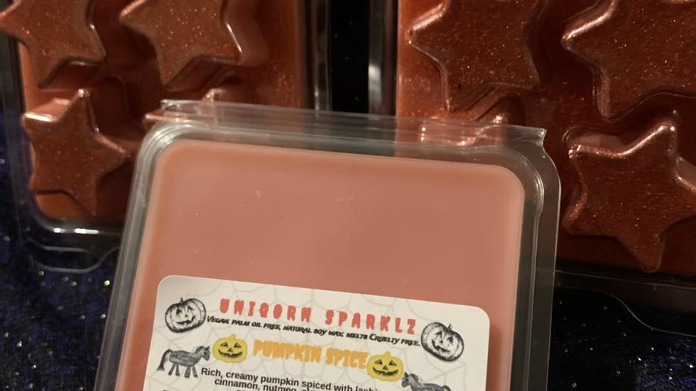 Spiced Pumpkin fragrance soy wax melt clam