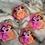 Thumbnail: Rhubarb & Custard slow Foaming Bath Bomb