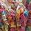 Thumbnail: Rainbow unicorn fragrance bath rocks slow Foaming Bath Bomb