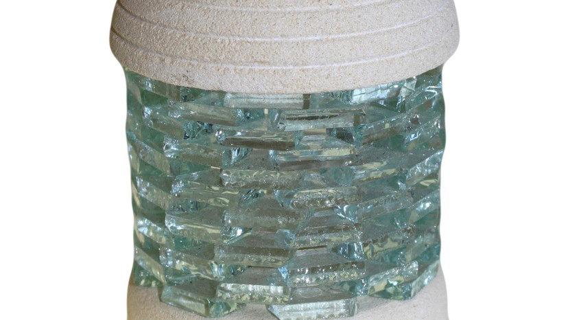 Glass and Sand stone wax melt burner