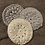 Thumbnail: Face Scrubby 100% cotton x3 washable pads grey