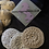 Thumbnail: Face Scrubby 100% cotton x3 washable pads fawn