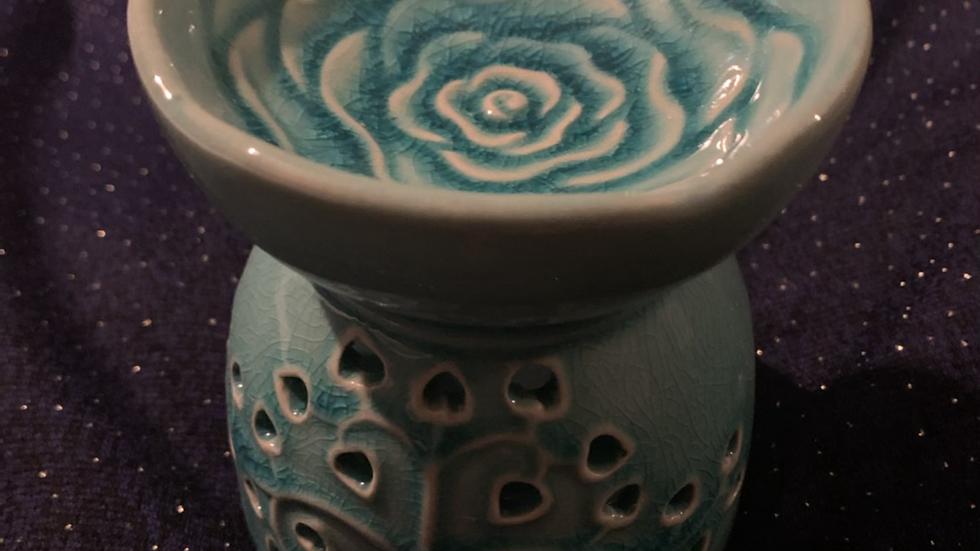 Tree of life wax melt burner ceramic