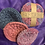 Thumbnail: Face Scrubby 100% cotton x3 washable pads pink blue