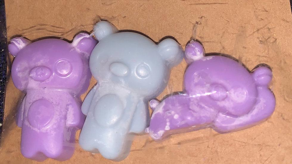 Tranquility relax wax melt bears