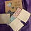 Thumbnail: Make up remover cloths hand made chintz blue