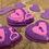 Thumbnail: Key to my Heart Pink lemonade  slow Foaming Bath Bomb