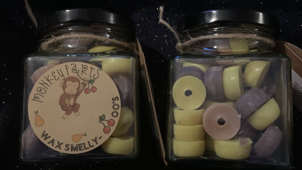 Monkey Farts wax melt smelly OOO's