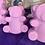 Thumbnail: Hair Care Bear (solid shampoo) LAVENDER & MACADAMIA for dry damaged hair