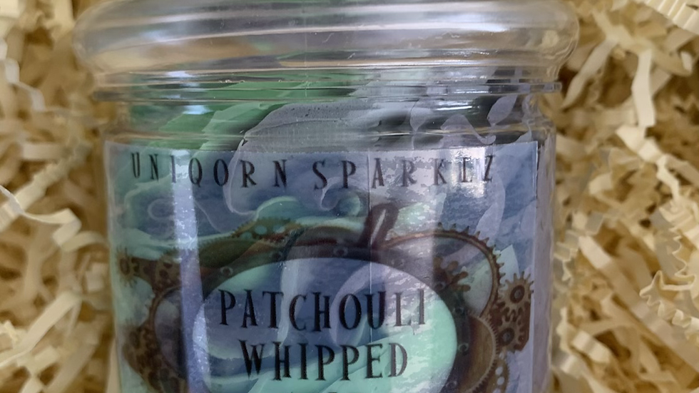 patchouli whipped soap