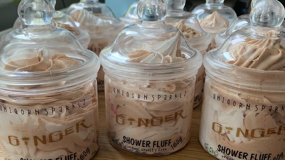 Ginger shower fluff  ! 160g