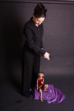 Lady Von Tramp marionette