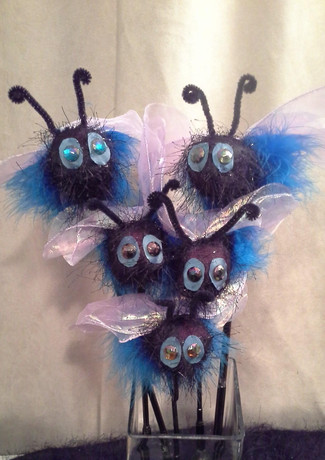 Helix of Fire: Blue Bees