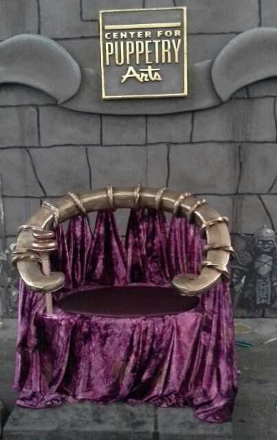 Labyrinth Throne replica