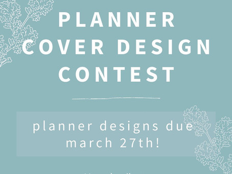 Planner Cover Design Contest