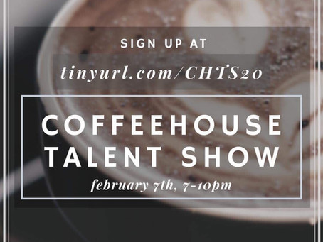 Coffeehouse Talent Show